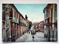 SAN SOSSIO BARONIA Via Piano Avellino vecchia cartolina