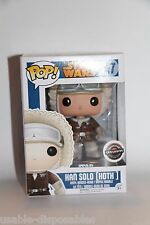 Funko Pop! Star Wars HAN SOLO (HOTH) #47 GAME STOP EXCLUSIVE NEW Ships Boxed