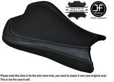 CARBON GRIP GREY DS ST CUSTOM FITS KAWASAKI ZX10R 1000 08-10 FRONT SEAT COVER