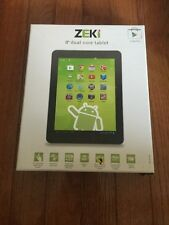 "ZEKI TBQG855B 8"""" Android(TM) 4.3 Quad-Core Tablet"