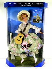 NIB BARBIE DOLL 1995 THE SOUND OF MUSIC AS MARIA HOLLYWOOD LEGENDS