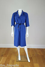 *GUCCI* VINTAGE BLUE COTTON DRESS 40-44