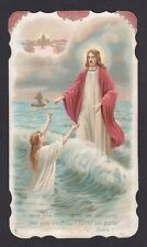 SANTINO 111 GESÙ SALVATORE - HOLY CARD IMMAGINETTA RELIGIOSA IMAGE PIEUSE