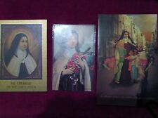 St. Therese 3 Items For Your Collection Biographical Sketch Novena & Prayer!