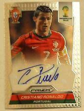 Panini Prizm World Cup 2014 Cristiano Ronaldo Portugal Rare Autograph auto S-CR