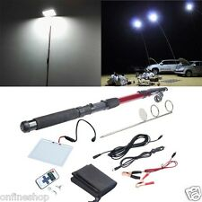 4M Telescopic Rod Car Repair LED Lantern Camping Lamp Night Photography Light