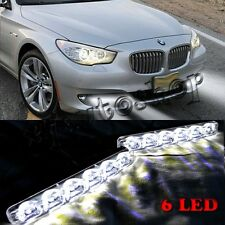 Universal Cool White Day Light 6 Led High Power Daytime Running light For Car
