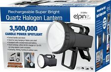 3.5 MILLION RECHARGEABLE SUPER BRIGHT HALOGEN SPOTLIGHT LANTERN TORCH WORK LIGHT