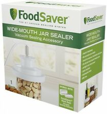 Vacuum Food Saver Wide Mouth Mason Jar Lid Storage Attachment Preserve Sealer