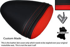 RED & BLACK CUSTOM FITS BUELL 1125 R CR XB 12 R XB 9 R REAR SEAT COVER