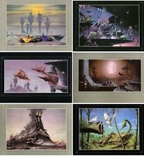 RODNEY MATTHEWS SET OF 6 GREETINGS CARDS