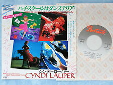 "CYNDI LAUPER Girls Just Want To Have Fun 07.5P-267 JAPAN 7"" 084az52"