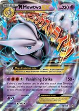 Pokemon TCG XY BREAKTHROUGH : MEGA M MEWTWO EX 63/162