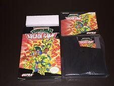 Teenage Mutant Ninja Turtles II 2 TMNT Nintendo Nes Collector Complete CIB NM