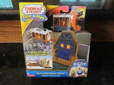Thomas & Friends Train Set NEW Toby Spooky Barn portable Railway Tale Brave toy