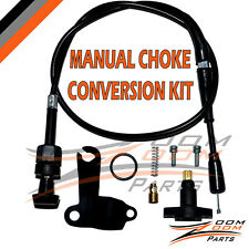 POLARIS PREDATOR 50 MANUAL CHOKE CABLE CONVERSION KIT SET 2004-2006
