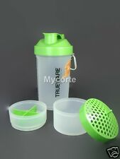 Trueware Ultra power Green Protien 3 in 1 Shaker bottle +700ml, Milk+BPA Free