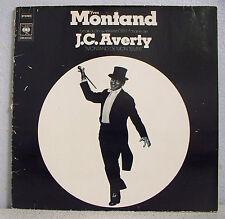 """33T Yves MONTAND Disque LP 12"""" Show TV J.C. AVERTY ..DE MON TEMPS - CBS 80042"""