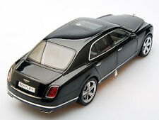 Bentley Mulsanne Speed Year 2014 Onyx Black 1:18 Kyosho 08910NX