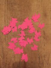 Baby Shower table Confetti Baby girl  pram table Decorations pink confetti