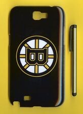 BOSTON BRUINS  1 Piece Glossy Case / Cover Samsung GALAXY NOTE 2 II (Design 1)
