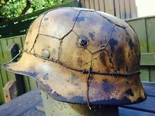 Normandy 44 German Metal Replica Helmet