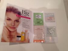 DHC Deep Cleansing Oil & Skincare samples: Primer- Facial Scrub- Moisturizer