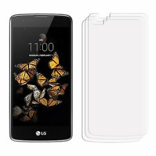 2 x New LG K8 Front Clear LCD Screen Display Protector Film Foil