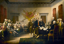 John Trumbull (Declaration of Independence) Art Poster Print Poster, 19x13