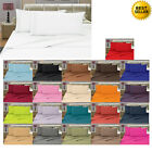 ULTRA SOFA 1500 THREAD COUNT PILLOW CASES ALL SIZES AND 12 COLORS