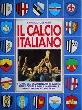 IL Calcio Italiano - Franco Cerretti 1990 Storia del Campionato di Calcio  [OGL]