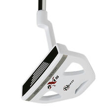 "NEW Nextt Golf Axis Nano White 2 Putter 36"" Mallet w/ Headcover"