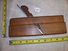 "Wood Plane Nice Vintage G. Harrisson ""Ironmonger"" Partial Round Blade Wood Plane"