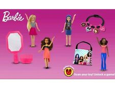 2017 Mcdonald's Barbie Happy Meal Toys  - Complete Set Of 7