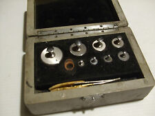 STANTON INSTRUMENTS LTD WEIGHTS SET BOXED 1960's