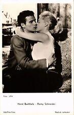 Romy Schneider-Horst Buchholz CPA Artiste Cinema Film (310567)