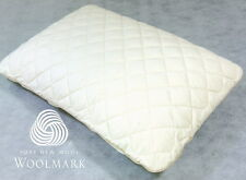 Adult Size 60x40x12cm Regular Shape Latex Pillow + Washable Wool Protector