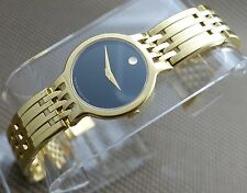 SWISS MOVADO ESPERANZA 18K GOLD P/S.S LADIES MODEL# 0606069 WATCH,RETAIL $1495