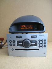 Vauxhall Corsa D Meriva CD30 Radio Stereo CD MP3 Player with Display 497316088
