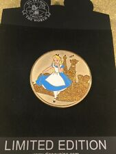 Disney Shopping ALICE IN WONDERLAND Gold Coin Series LE 250 Pin