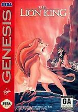 The Lion King (Sega Genesis) Game, Manual & Case - Fre e Shipping