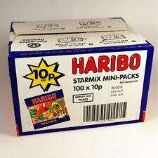 HARIBO SWEETS STARMIX MINI PACKS - Wholesale Box 100 Bags