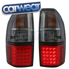 TOYOTA LAND CRUISER PRADO 96-02 SMOKE RED LED TAIL LIGHTS