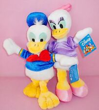 2 LARGE 35CM CUTE DISNEY DONALD & DAISY DUCK SOFT PLUSH DOLL KIDS BABY TOY