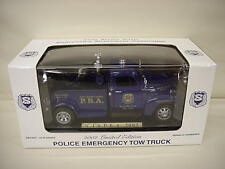 NEW JERSEY NJ STATE POLICE PBA DIECAST TOW TRUCK WRECKER 1/24 TAYLOR MADE
