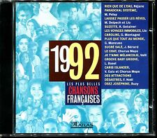 LES PLUS BELLES CHANSONS FRANCAISES - 1992 - CD COMPILATION ATLAS