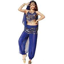 Belly dance clothes costume dance set Indian dance wear 2pcs Top & Pant