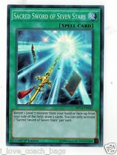 Sacred Sword of Seven Stars MP14-EN042 X 2  Mint  1st  YUGIOH Super Rare