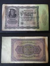 BANCONOTA GERMANIA 50000  MARK 1922