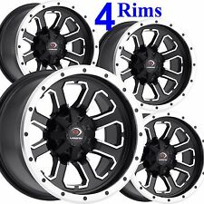 MINI TRUCK RIMs WHEELs you get FOUR 12x7 4/115 4+3 Forged Aluminum DOT COMMANDER